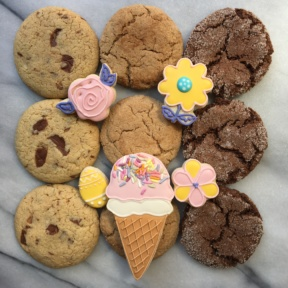 Gluten-free cookies for Easter from Stacy's Cookie Lounge