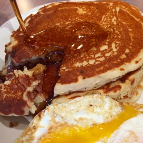 Gluten-free pancakes from Star on 18