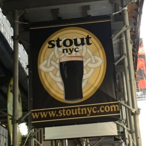 Stout in Midtown West NYC