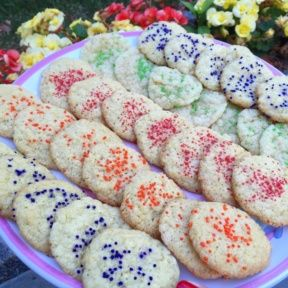 Gluten-free Sugar Cookies with Sprinkles