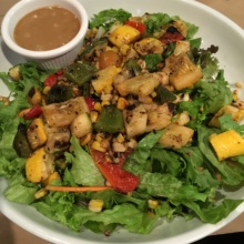 Gluten-free salad from Sundown Saloon
