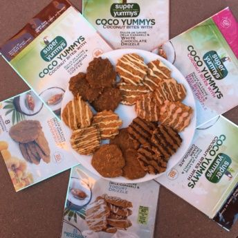 Gluten-free coconut bites from Super Yummys