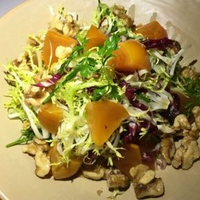 Gluten-free salad with beets from Superba Food and Bread