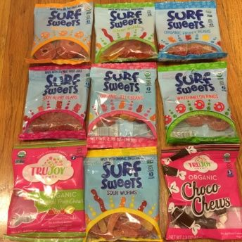 Gluten-free candy by Surf Sweets