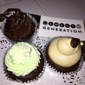 Gluten-free cupcakes from Sweet Generation