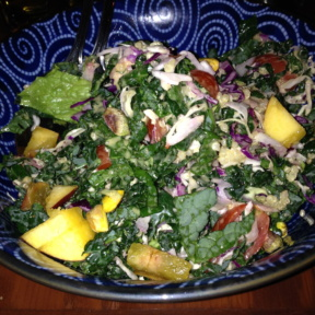 Gluten-free kale salad from Tacolicious
