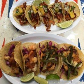 Gluten-free tacos from Tacombi
