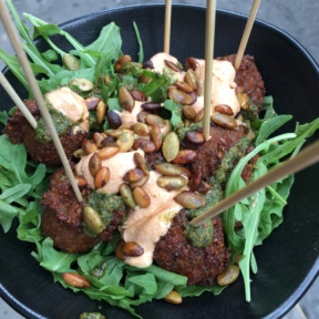 Gluten-free falafel from Taim