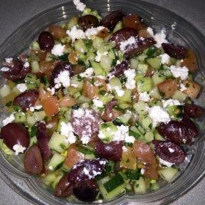 Gluten-free salad from Taim