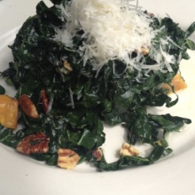 Gluten-free kale salad from Tartine