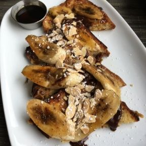 Gluten-free banana and Nutella French toast from Taste on Melrose