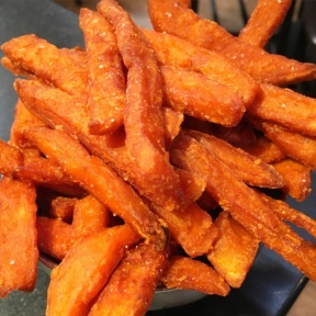 Gluten-free sweet potato fries from Tavern in the Square