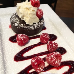 Gluten-free flourless chocolate cake from Tavern in the Square