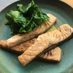 Gluten-free salmon from Tavo