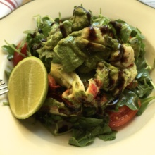 Gluten-free lobster salad from Terra Wine Bar