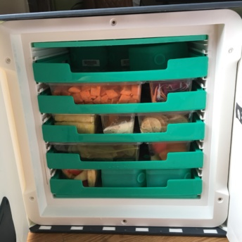 Terra's Kitchen's reusable fridge for food