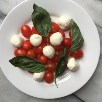 Gluten-free caprese salad from Terra's Kitchen