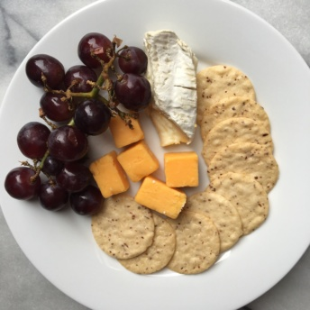 Fruit and cheese plate from Terra's Kitchen