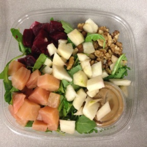 Gluten-free beet salad from Terri