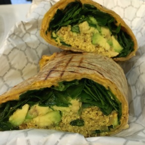 Gluten-free wrap from Terri