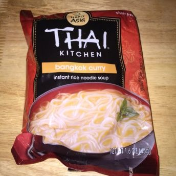 Gluten-free rice noodle soup from Thai Kitchen