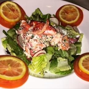 Gluten-free lobster salad from The Capital Grille