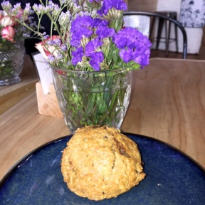 Gluten-free muffin from The Elk