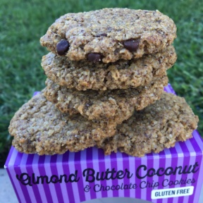 Gluten-free almond butter cookies from The Good Cookies