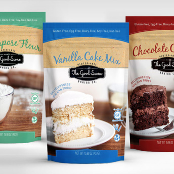 Gluten free baking mixes from The Good Scone