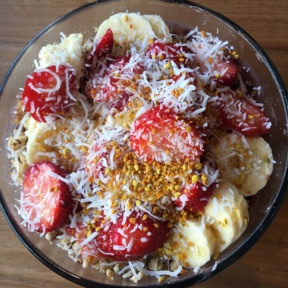 Gluten-free acai bowl from The Hive