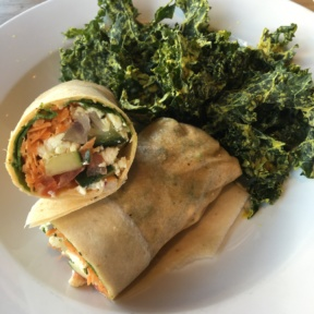 Gluten-free paleo wrap from The Hive
