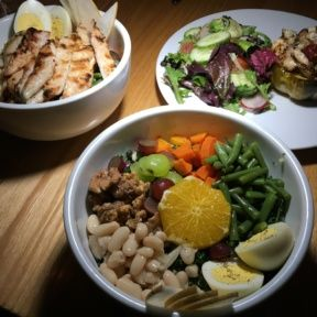 Gluten-free dinner salads from The Independence