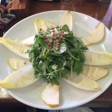Gluten-free endive salad from The Jolly Monk