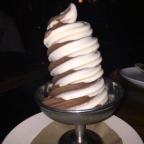Gluten-free soft serve from The Library at the Public