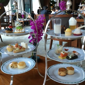 Gluten-free tea time at The Lobby at The Peninsula Bangkok