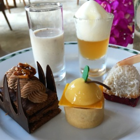 Gluten-free desserts from The Lobby at The Peninsula Bangkok