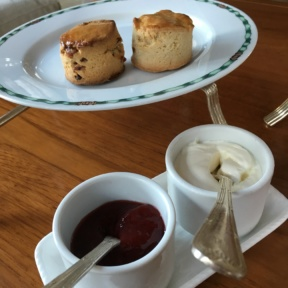 Gluten-free scones from The Lobby at The Peninsula Bangkok
