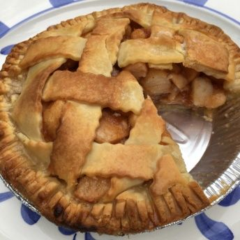 Gluten-free apple pie from The Maine Pie Co