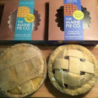 Gluten free pies from The Maine Pie Co