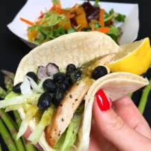 Gluten-free tacos from The Malt House