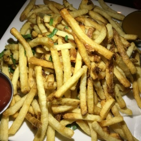 Gluten-free fries from The Misfit Restaurant + Bar