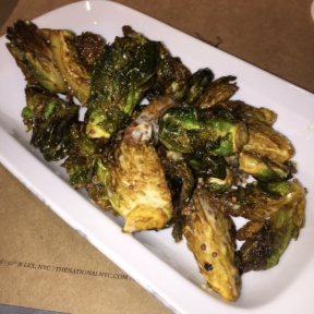 Gluten-free brussels sprouts from The National