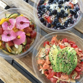 3 Gluten-free bowls from The Poke Shack