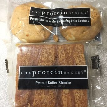 Gluten-free cookies & blondies by The Protein Bakery