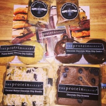 Gluten-free cookies and bars by The Protein Bakery