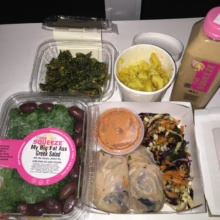 Gluten-free vegan food from The Squeeze