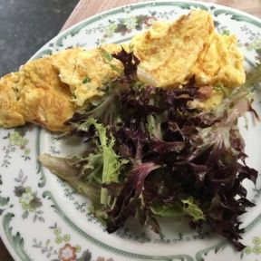 Gluten-free omelette from The Tasting Kitchen