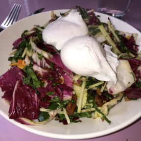 Gluten-free salad from The Upsider