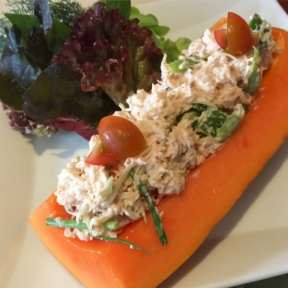 Gluten-free crab salad from The Verandah at The Mandarin Oriental