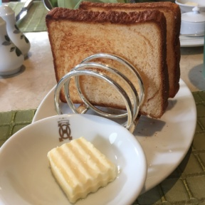 Gluten-free bread from The Verandah at The Mandarin Oriental